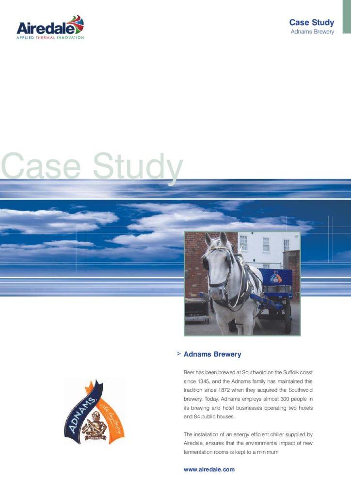 Adnams Brewery case study