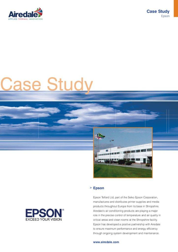 Epson case study