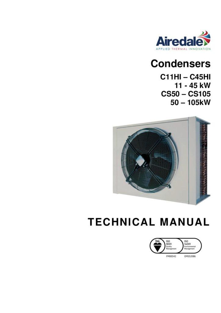 G_MarketingDocumentationTechnical-ManualsENGLISHCURRENT-E-MAILTM_CONDENSERS_C11-C45_CS50-CS105_6469597_V1.11.0_10_2018-pdf-724x1024