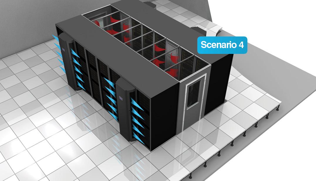 datacentre cooling scenario-4
